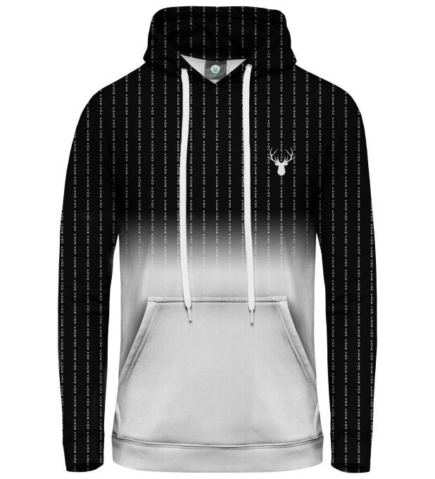 FK YOU FADE BLACK HOODIE Thumbnail 1