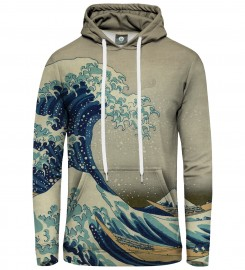 Aloha From Deer, GREAT WAVE HOODIE Thumbnail $i