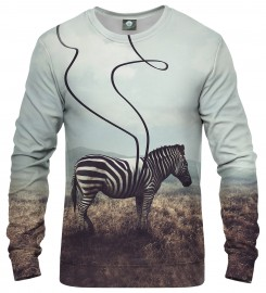 Aloha From Deer, LOST STRIPES SWEATSHIRT Thumbnail $i