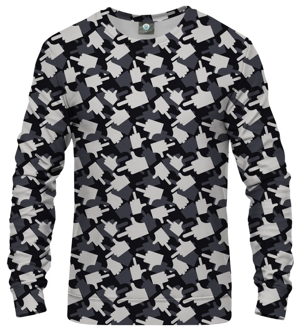 BLUZA FK YOU CAMO GREY Miniatury 1
