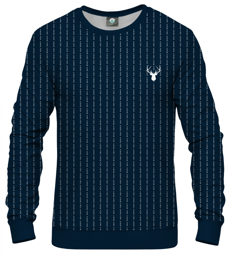 Aloha From Deer, FK YOU NAVY SWEATSHIRT Image $i