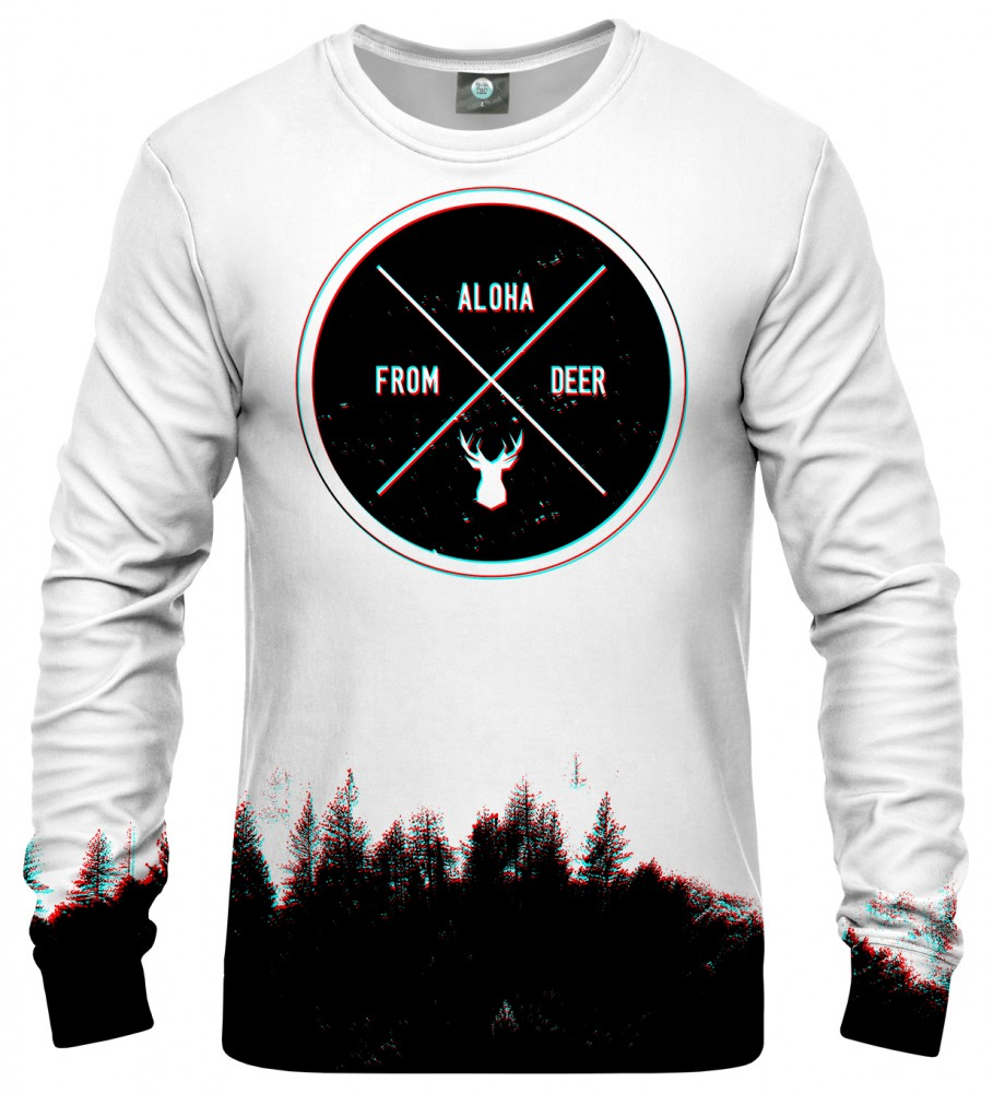 Aloha From Deer, CIRCLE WOODS TWO SWEATER Image $i