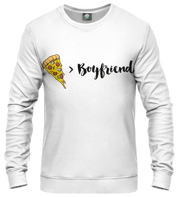 IN LOVE WITH PIZZA SWEATER Thumbnail 1