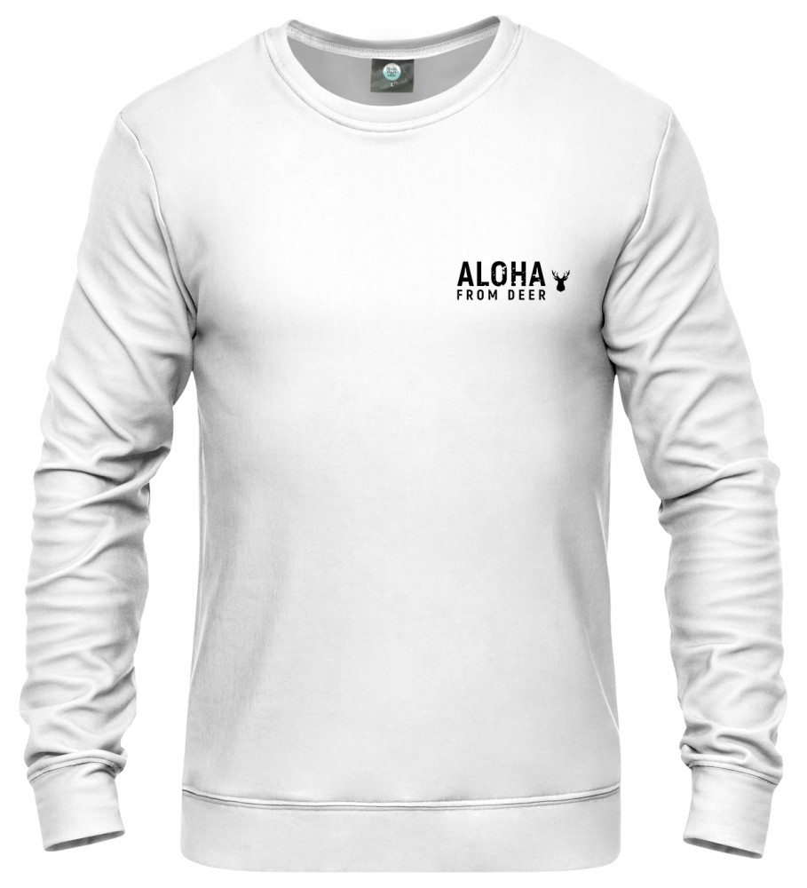 "Aloha From Deer, ""THIS IS A SWEATER WITH LOGO"" SWEATER Image $i"