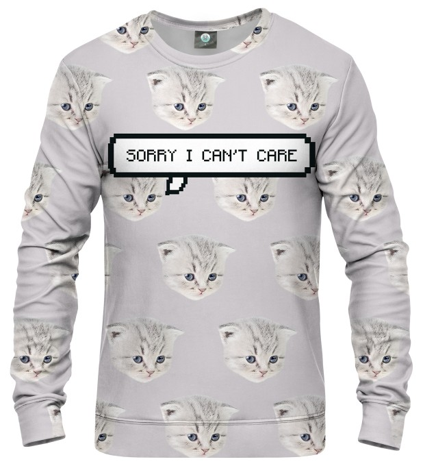 I CAN'T CARE SWEATER Thumbnail 1