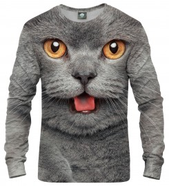 Aloha From Deer, BRITISH CAT SWEATER Thumbnail $i