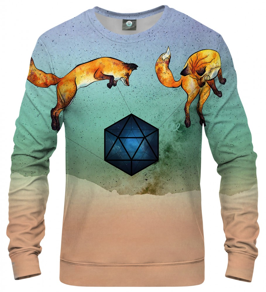 Aloha From Deer, WILD FOXES SWEATER Image $i