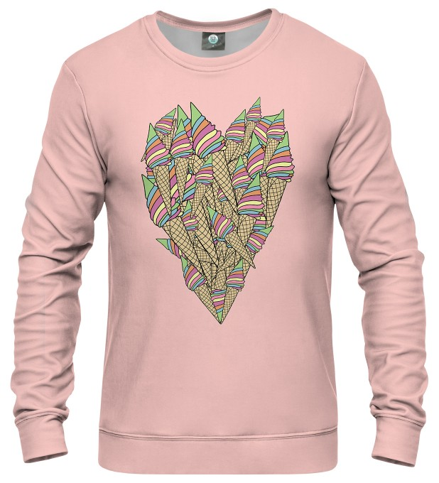 ICE-CREAM HEART SWEATER Thumbnail 1
