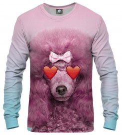 Aloha From Deer, PINK PUDDLE SWEATER Thumbnail $i