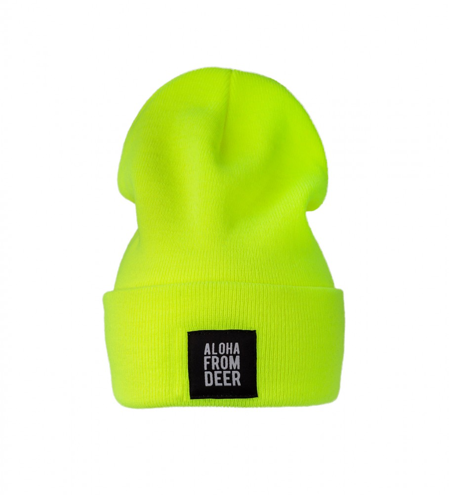 Aloha From Deer, FLUO WATCH HAT Image $i