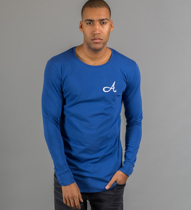 Cotton Long Sleeve Blue Thumbnail 2