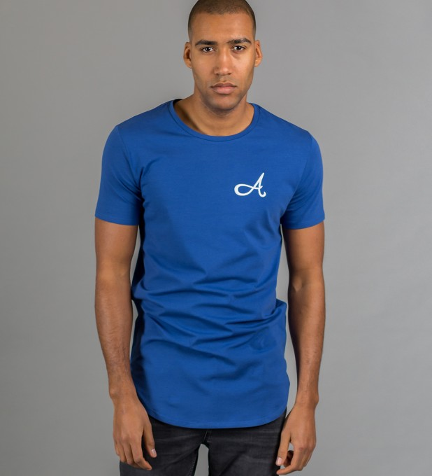 Cotton T-Shirt Blue Thumbnail 2