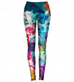 Aloha From Deer, PAINTJOB LEGGINGS Thumbnail $i
