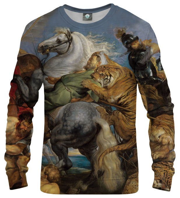 THE TIGER HUNT SWEATSHIRT Thumbnail 1