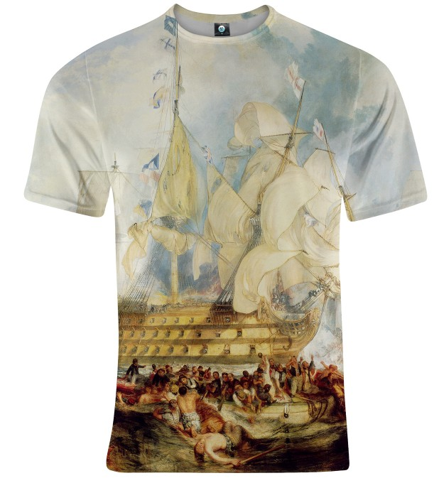 T-SHIRT THE BATTLE OF TRAFALGAR Miniatury 1