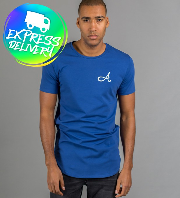 Cotton T-Shirt Blue Thumbnail 1
