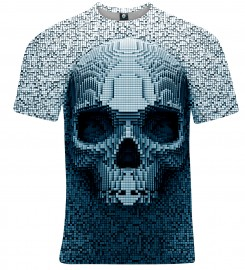 Aloha From Deer, PIXEL SKULL T-SHIRT Thumbnail $i