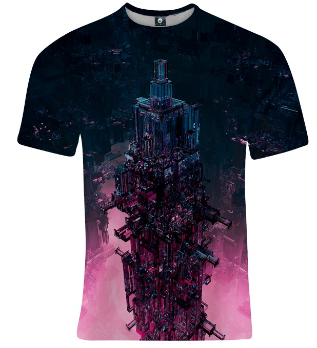 GLASS TOWER T-SHIRT Thumbnail 1