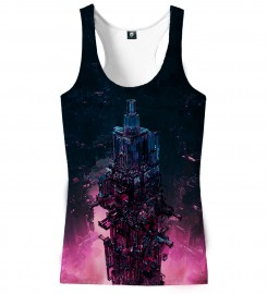 Aloha From Deer, GLASS TOWER TANK TOP Thumbnail $i