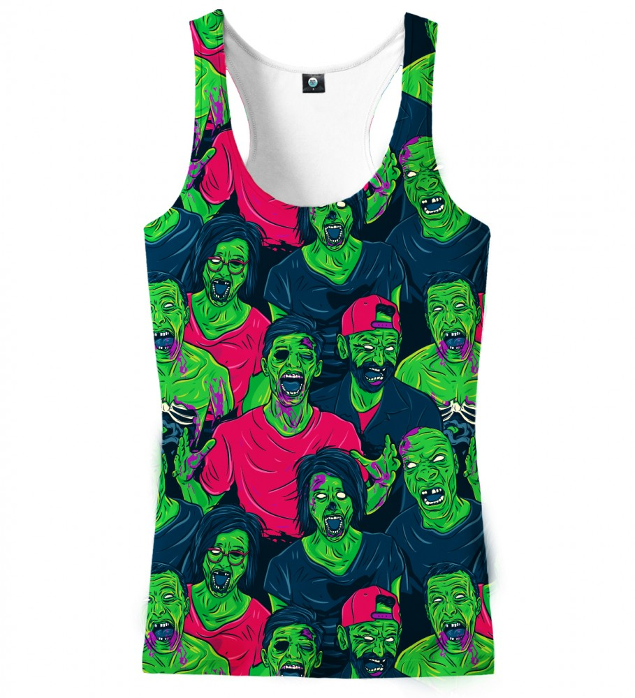 Aloha From Deer, ZOMBIEZ TANK TOP Image $i