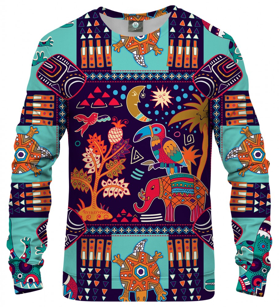Aloha From Deer, TRIBAL CONNECTIONS SWEATSHIRT Image $i