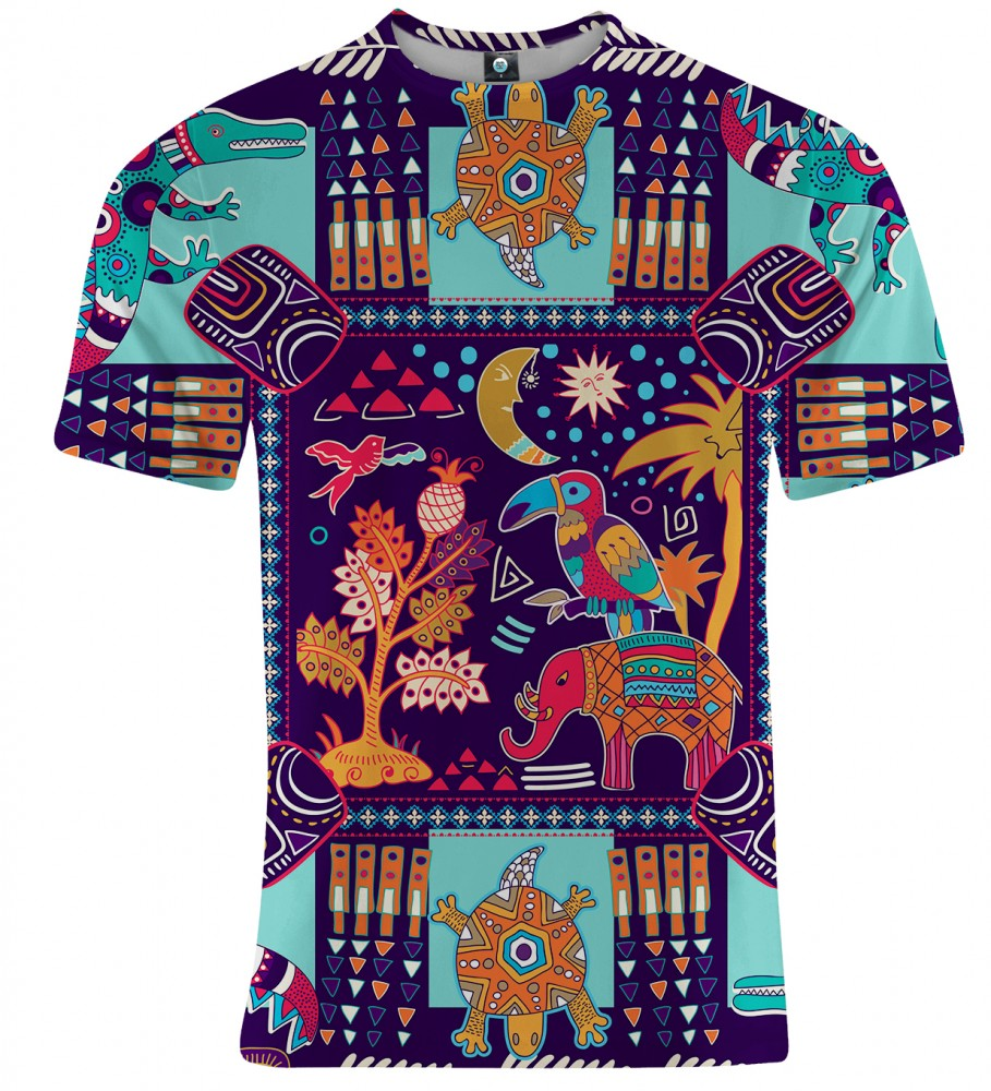 Aloha From Deer, TRIBAL CONNECTIONS T-SHIRT Image $i
