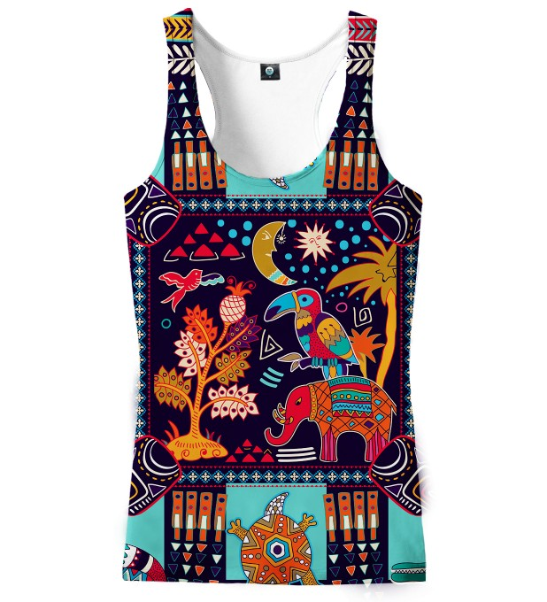 TRIBAL CONNECTIONS TANK TOP Thumbnail 1