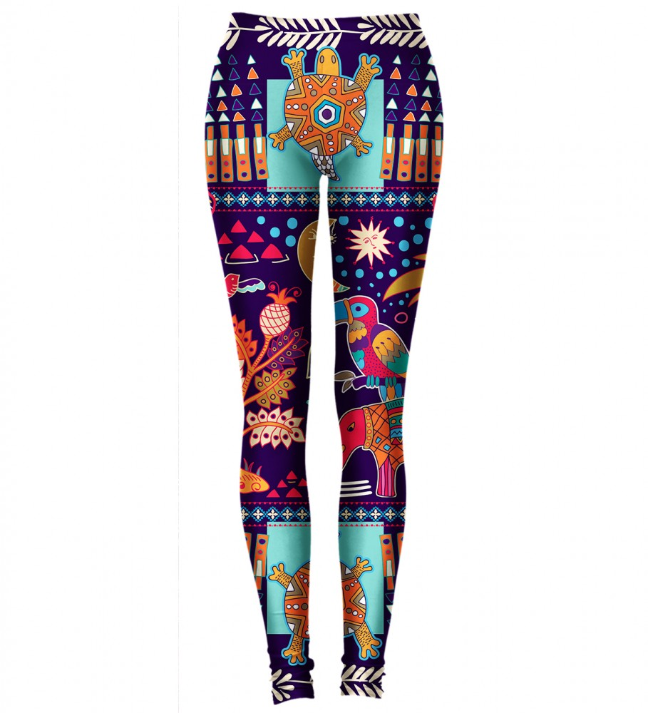 Aloha From Deer, TRIBAL CONNECTIONS LEGGINGS Image $i