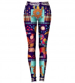 Aloha From Deer, TRIBAL CONNECTIONS LEGGINGS Thumbnail $i