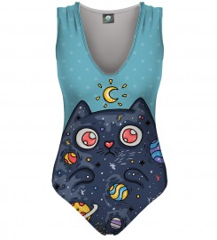 Aloha From Deer, SPACE CAT SWIMSUIT Thumbnail $i