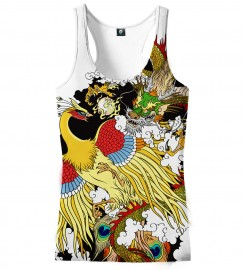 Aloha From Deer, GODFIGHT TANK TOP Thumbnail $i