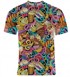 Aloha From Deer, LOVE THY ICE CREAM T-SHIRT Thumbnail $i