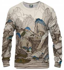 Aloha From Deer, ALL THE LINES SWEATSHIRT Thumbnail $i