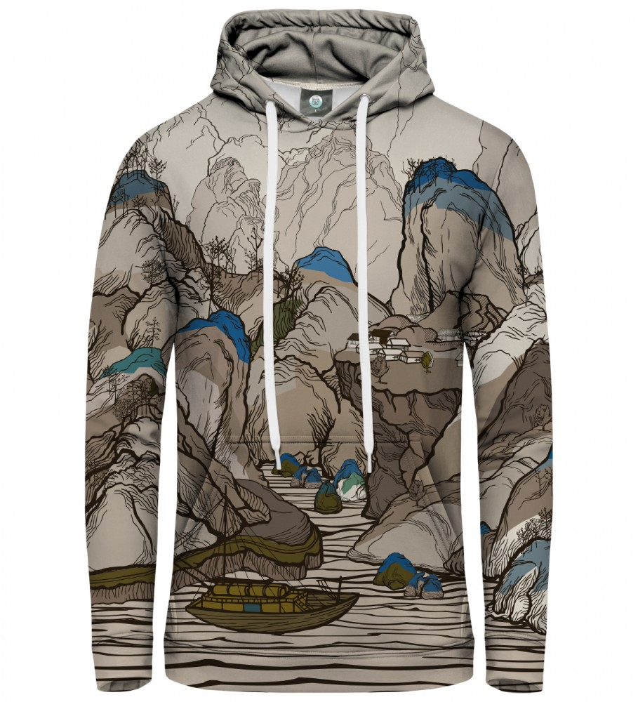 Aloha From Deer, ALL THE LINES HOODIE Image $i
