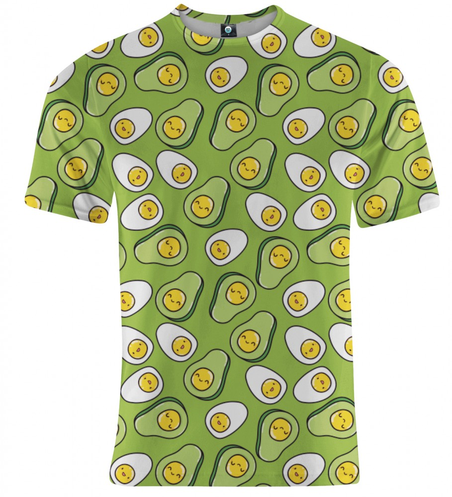 Aloha From Deer, EGGCADO T-SHIRT Image $i