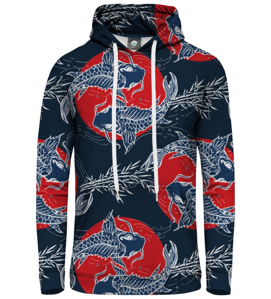 Aloha From Deer, JAPANESE FISH HOODIE Image $i