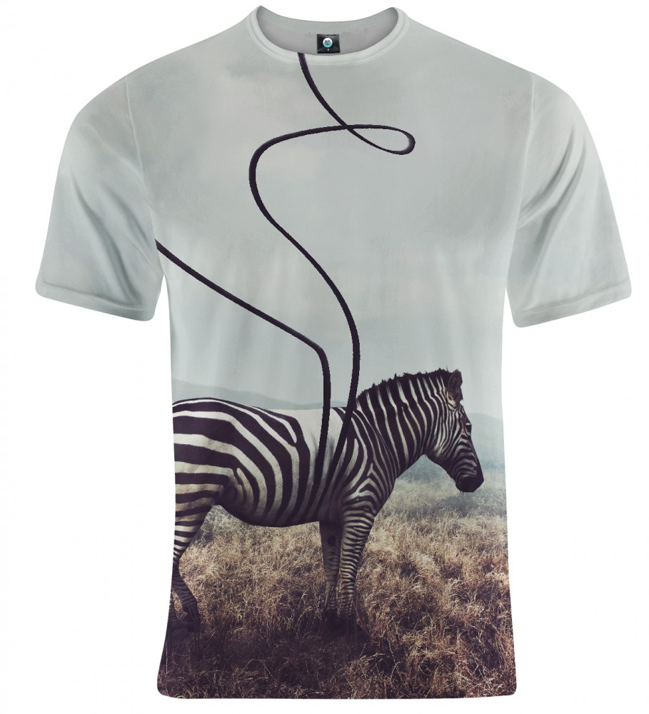 Aloha From Deer, LOST STRIPES T-SHIRT Image $i