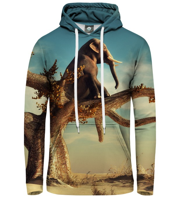 WISE ELEPHANT HOODIE Thumbnail 1