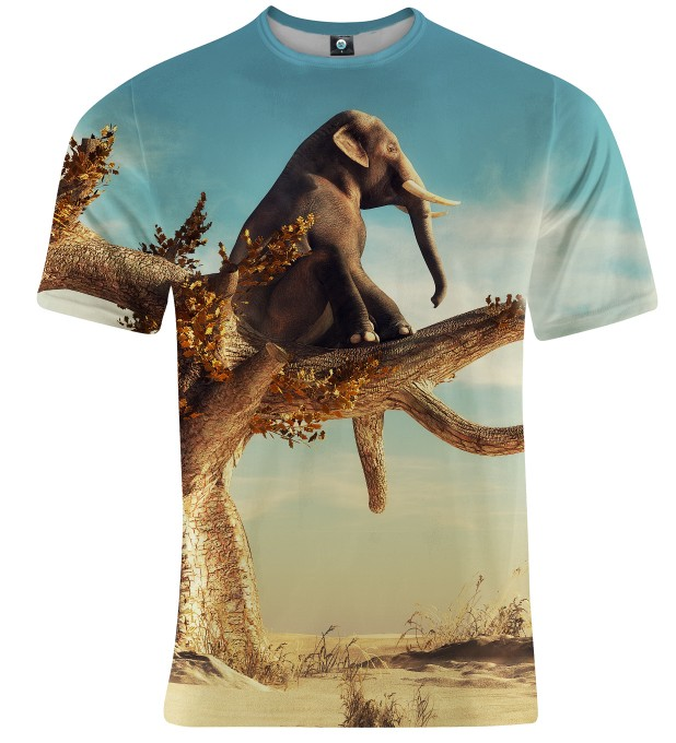 T-SHIRT WISE ELEPHANT Miniatury 1
