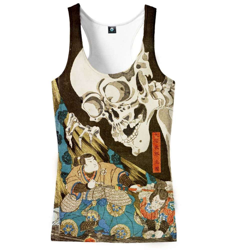 Aloha From Deer, DEATH IS WATCHING TANK TOP Image $i