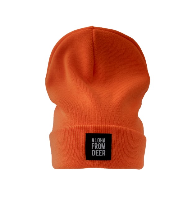 ORANGE WATCH HAT Thumbnail 1