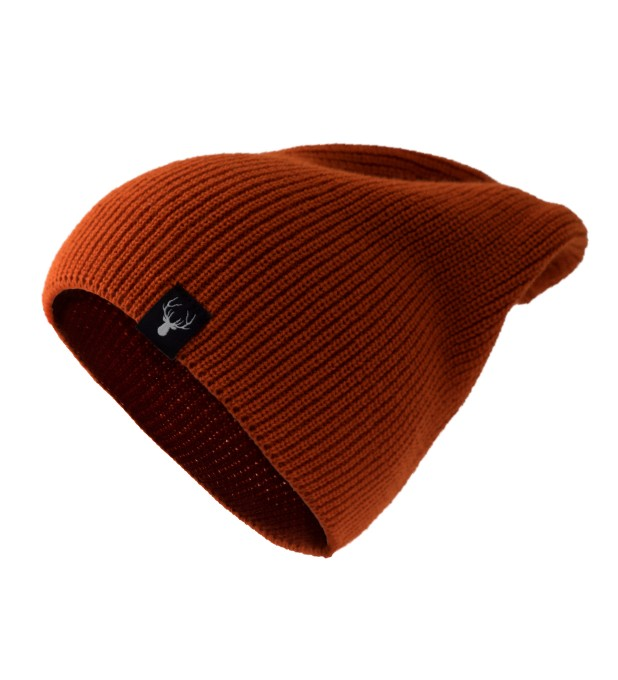 ORANGE DEER BEANIE Thumbnail 1