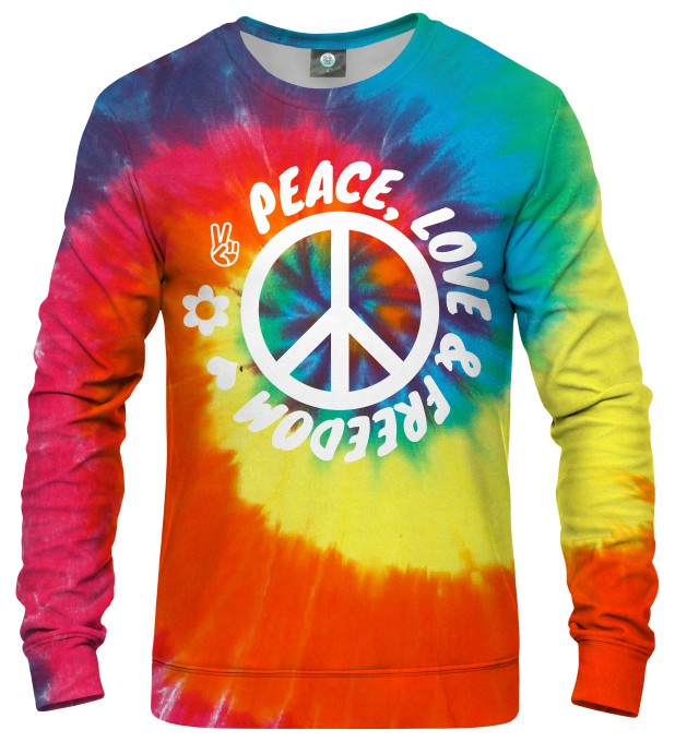 BLUZA PEACE, LOVE AND FREEDOM Miniatury 1