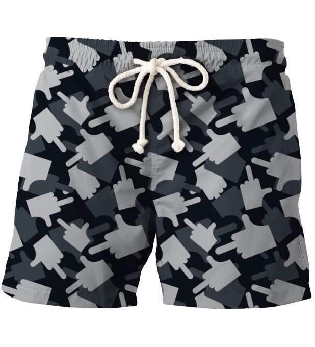 FK YOU CAMO GREY  SHORTS Thumbnail 1