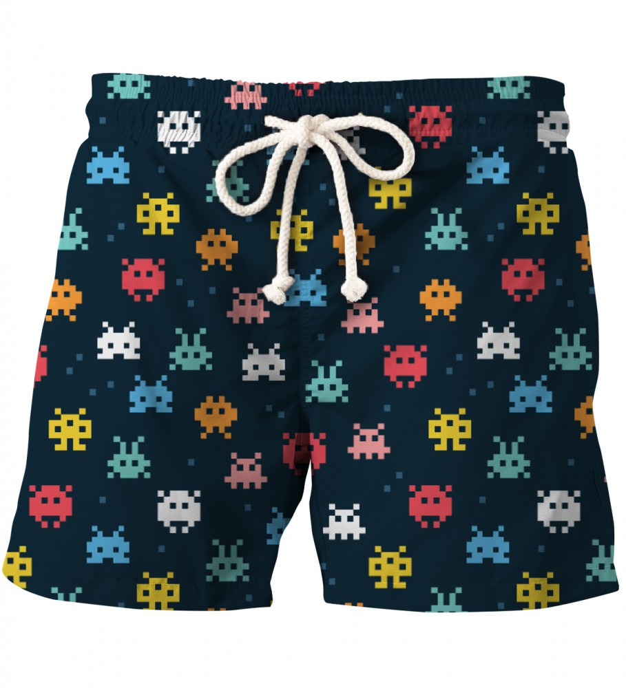 Aloha From Deer, SPACE INVADERS SHORTS Image $i