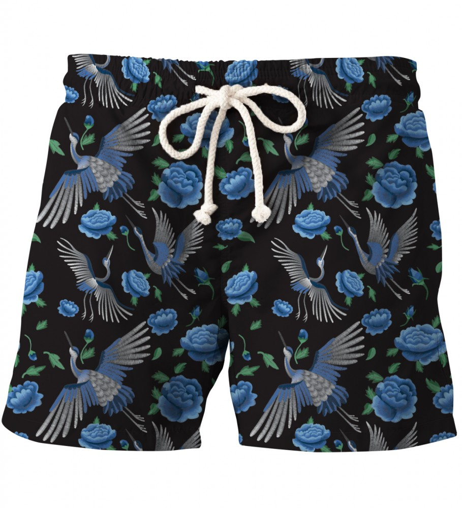Aloha From Deer, BLUE CRANES SHORTS Image $i