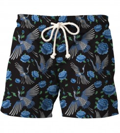 Aloha From Deer, BLUE CRANES SHORTS Thumbnail $i