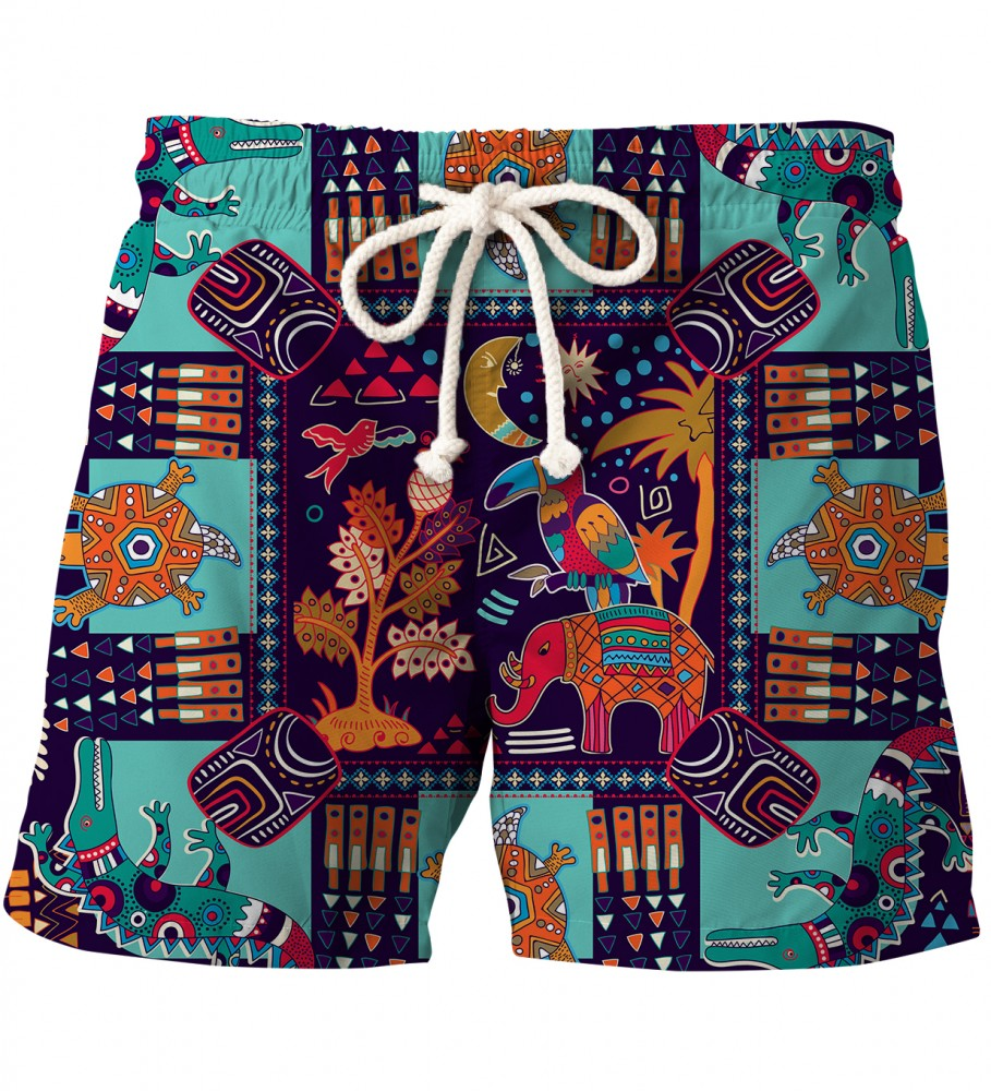 Aloha From Deer, TRIBAL CONNECTIONS SHORTS Image $i