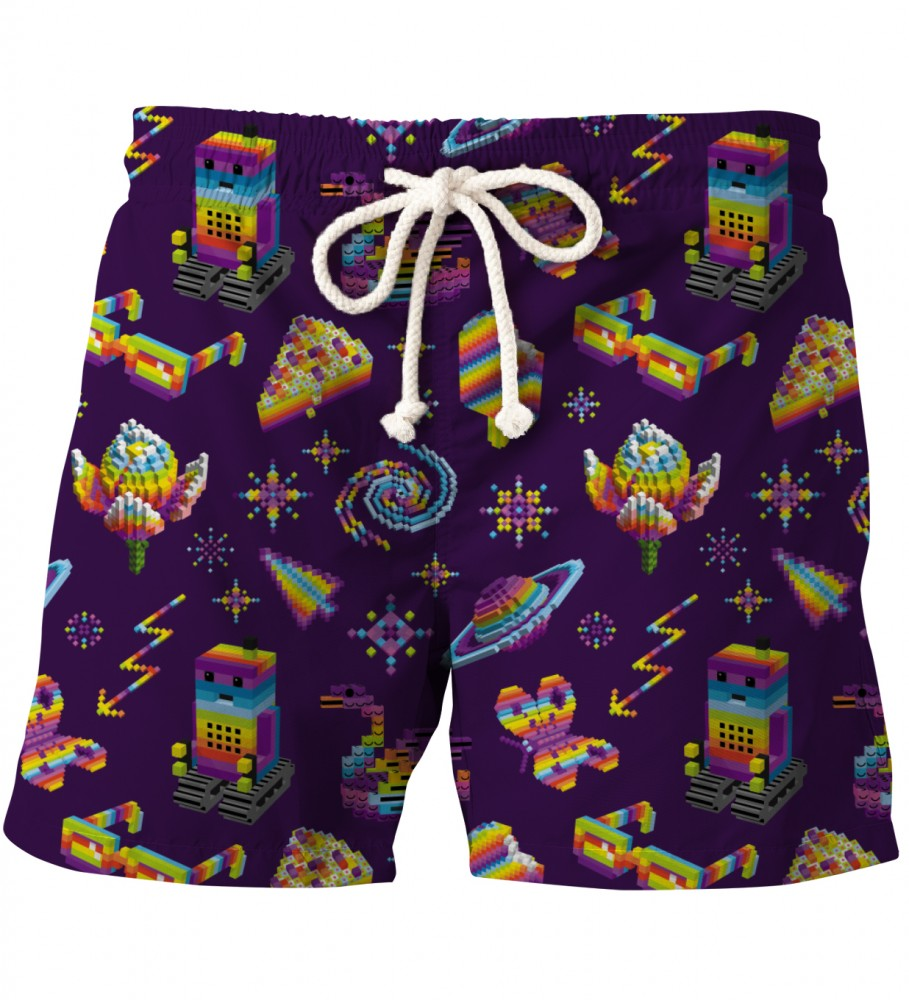 Aloha From Deer, PIXEL PERFECT SHORTS Image $i