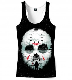 Aloha From Deer, FRIDAY THE 13TH TANK TOP Thumbnail $i